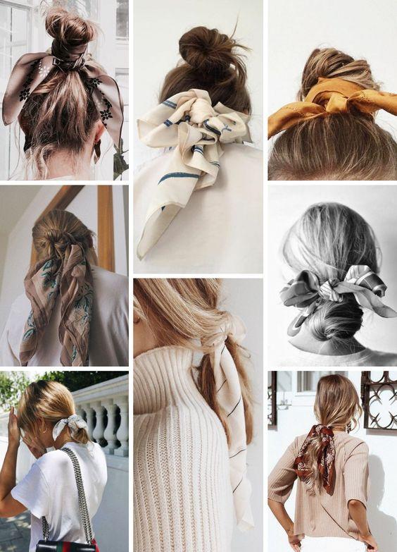 Cách uốn tóc xoăn bằng khăn tay