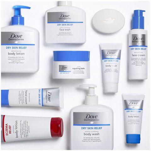Kem dưỡng ẩm Dove DermaSeries Dry Skin Relief SPF15 Face Cream