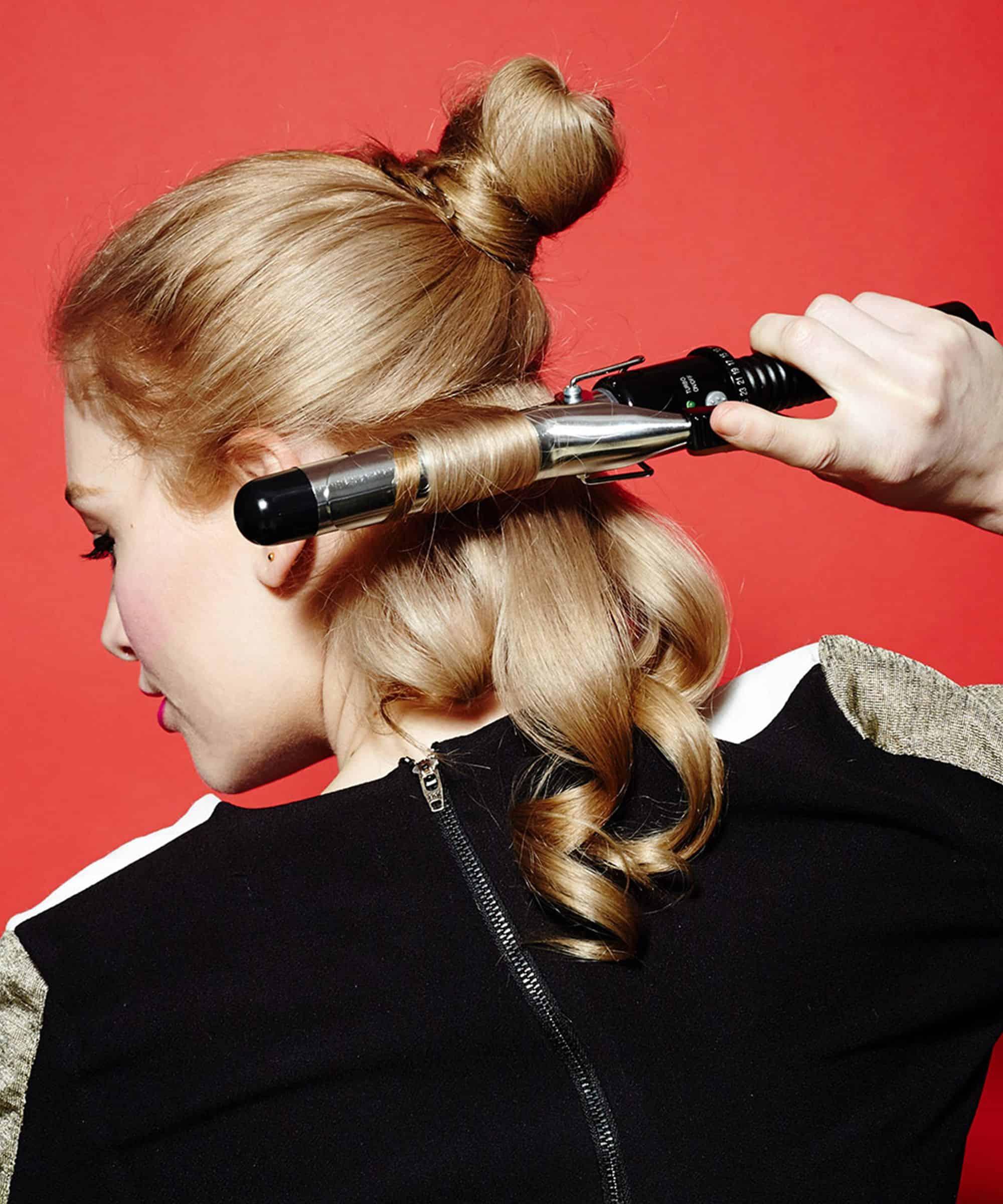 Cách sử dụng máy uốn tóc đẹp và đúng 4