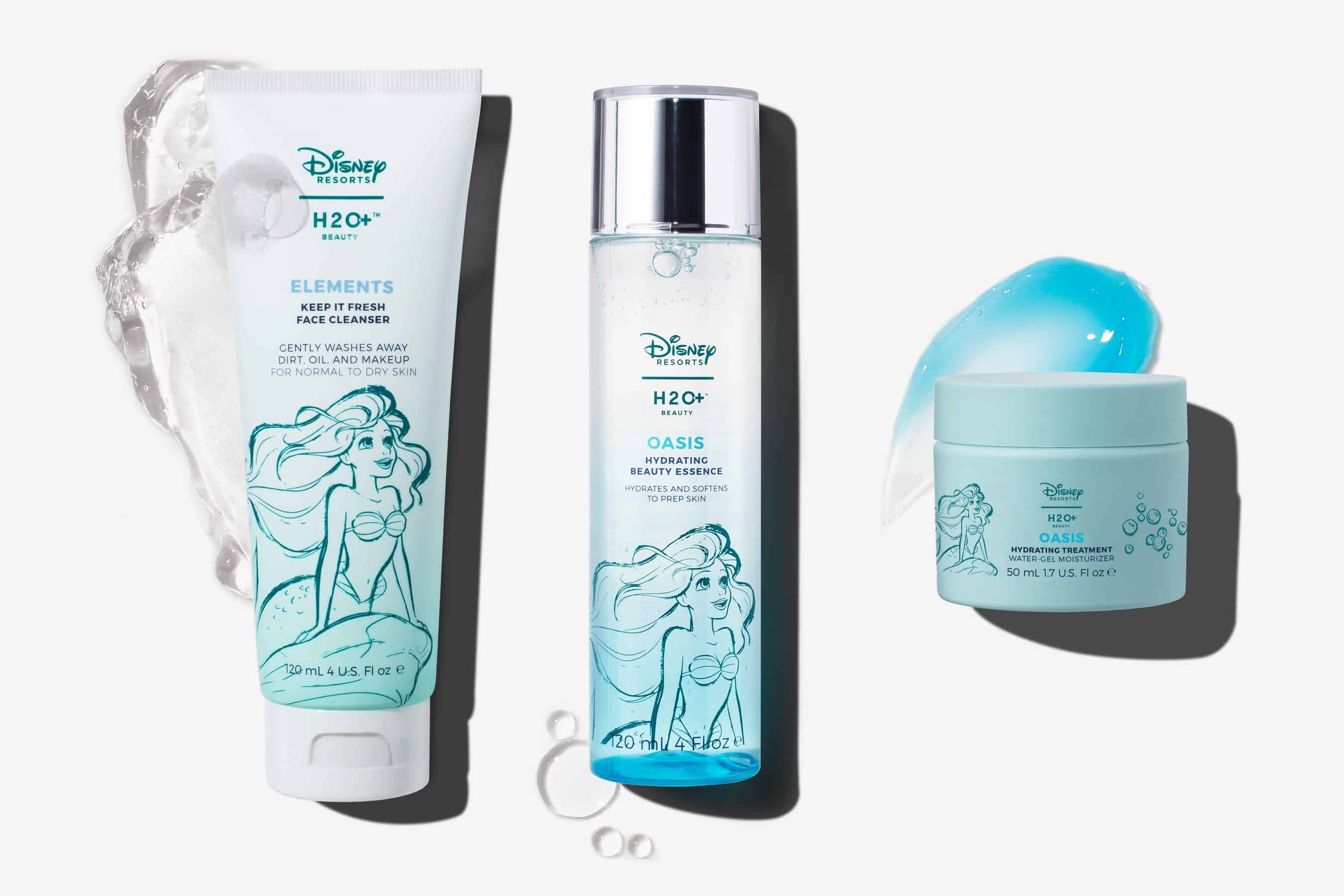 H2O+ Little Mermaid Skin-Care Collection – món quà nhỏ cho nàng từ team Disney