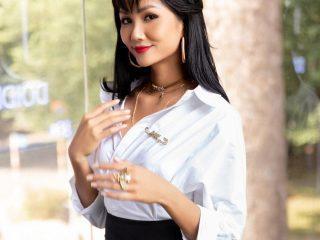Hợp với tóc ngắn là thế nhưng H Hen Niê cũng xinh đẹp cùng tóc dài lắm đấy chứ