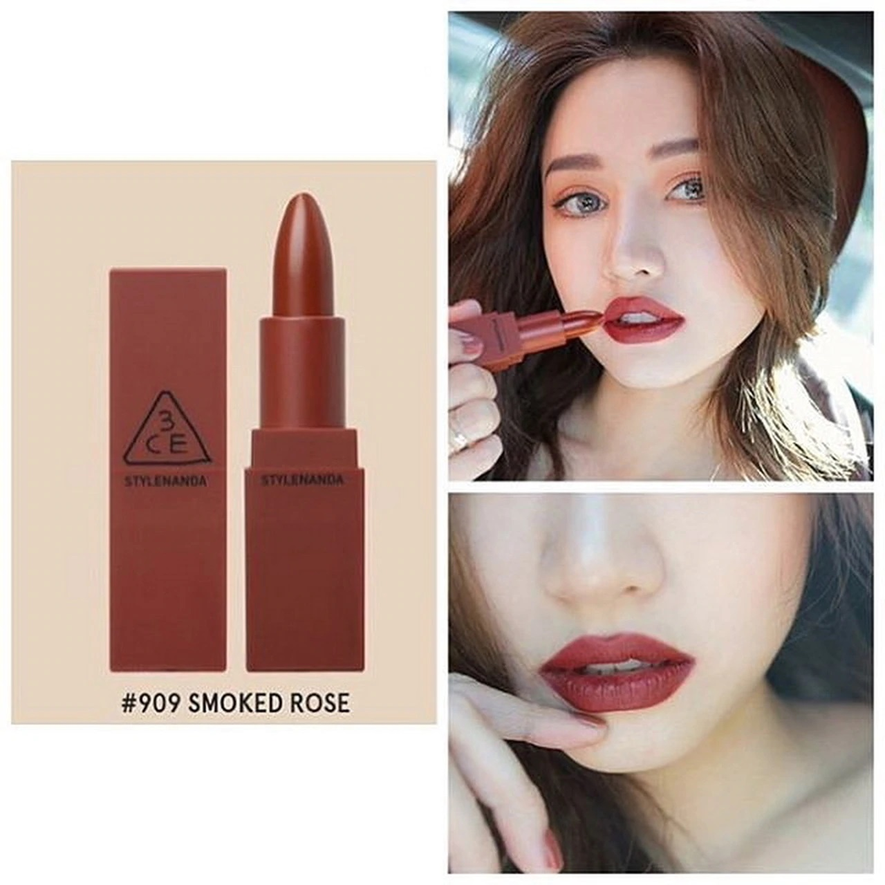 3CE Mood Recipe Matte Lip Color màu #909