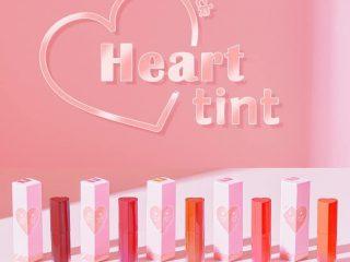 """""""Rụng tim"""" với dòng son Color Lock Heart mới nhất của Black Rouge"""