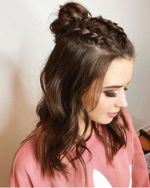 All Time Best Half Up Half Down Long Hairstyles for Glamorous Look 2019 #Front # for #glamouroses #Long #Time  #front #glamorous #glamouroses #hairstyle #hairstyles #Long #time