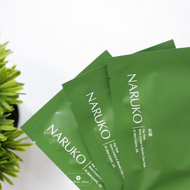 Kết quả hình ảnh cho naruko tea tree mask