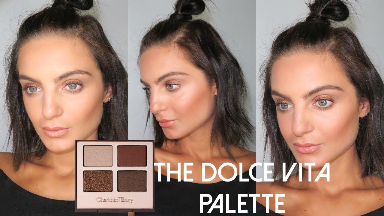 Kết quả hình ảnh cho Charlotte Tilbury Luxury Eyeshadow Palette in The Dolce Vita