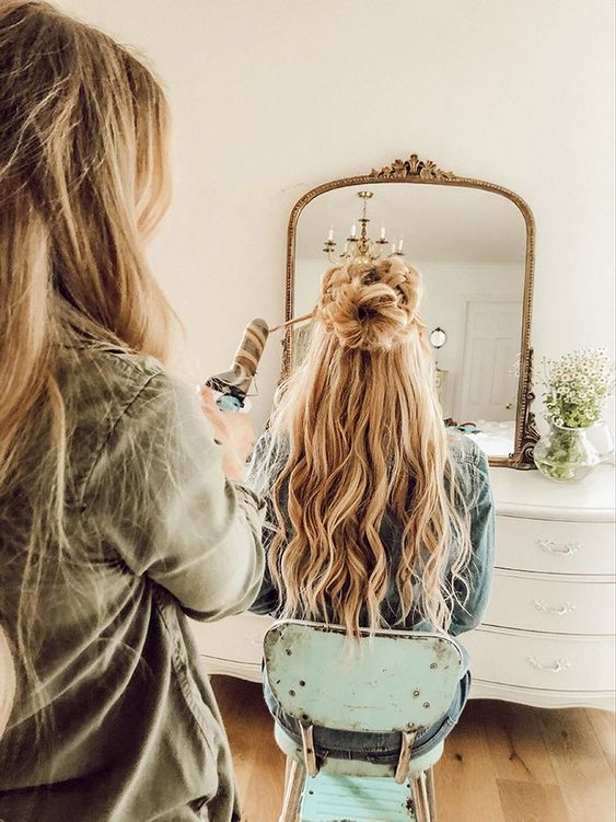 The Wiegands: Double Half Up Braid | Bringing HAIR tutorials back! This was SUCH... -