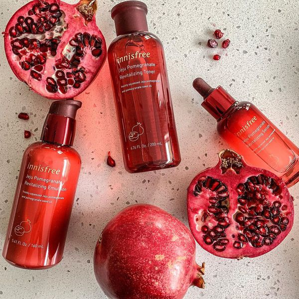 Image result for innisfree jeju pomegranate revitalizing foam cleanser