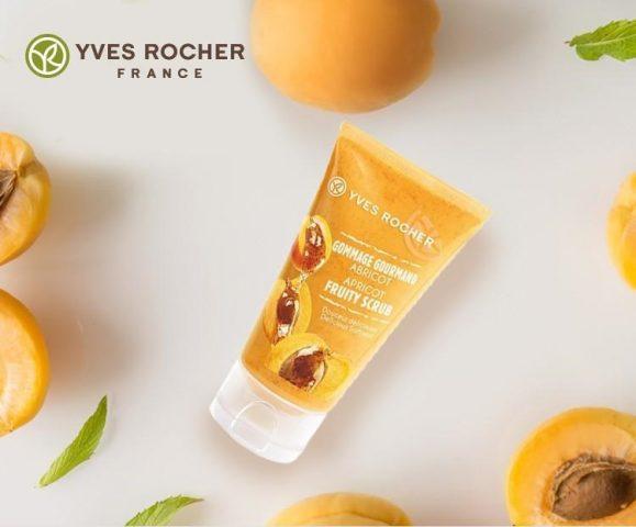 Rất có thể da mụn nhạy cảm cần đến Yves Rocher Apricot Fruity Scrub đấy!