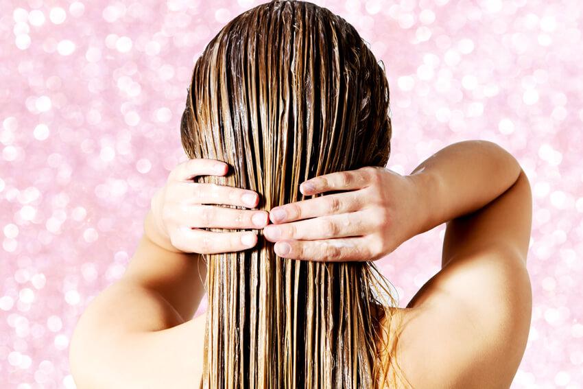 tóc bóng mượt
