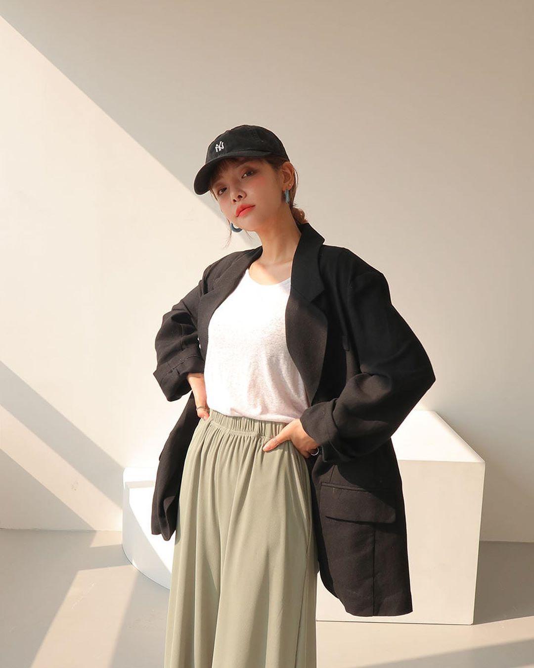 Phối Đồ Phong Cách Hàn Quốc  với suit