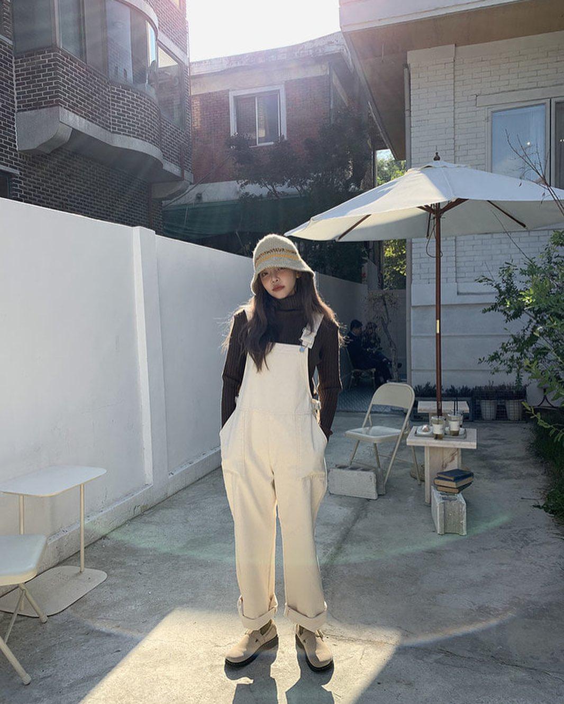 áo len với yếm