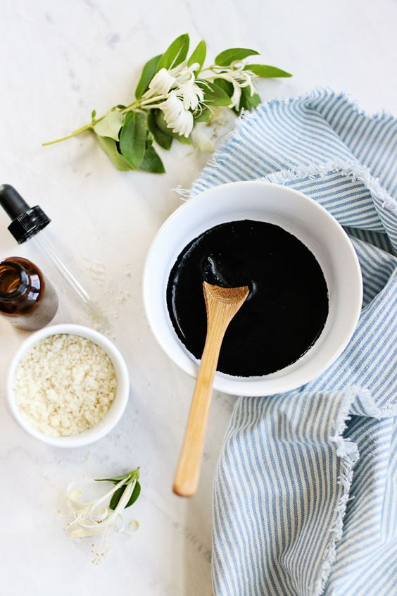 These DIY blackhead masks, made with clay, honey, and activated charcoal, will unclog your pores to help prevent stretching and breakouts.