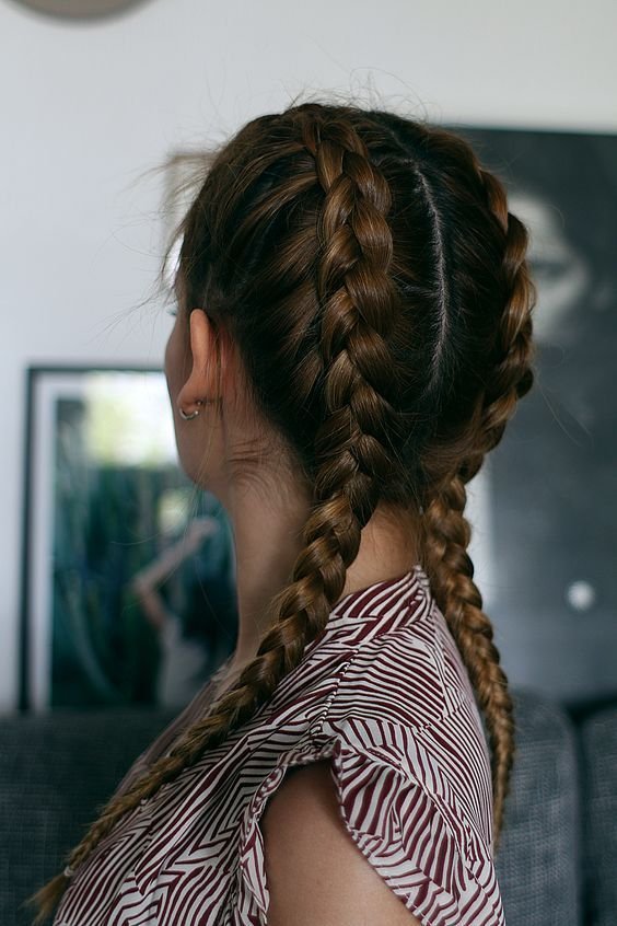 How to: The Boxer Braids  #Boxer #Braids #Hairstyle #hairstyles