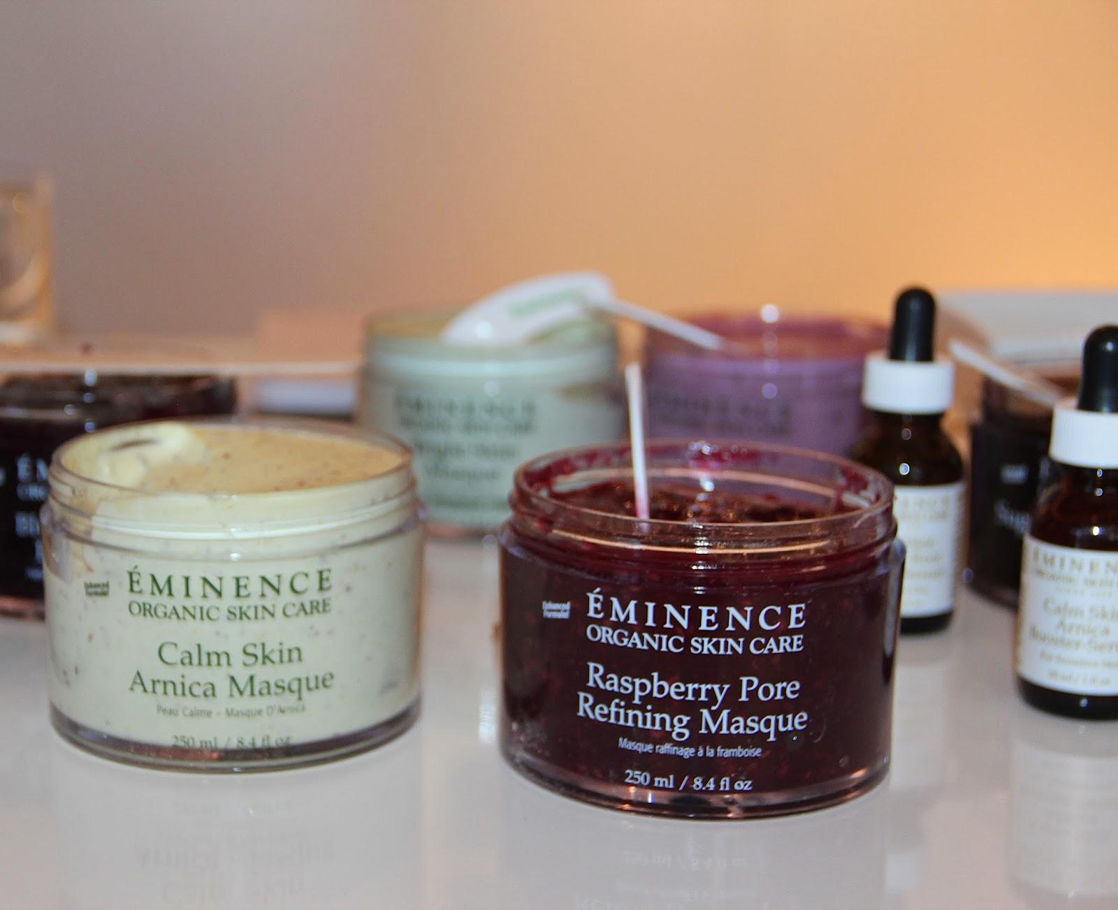 Kết quả hình ảnh cho Eminence Organic Skin Care Raspberry Pore Refining Masque