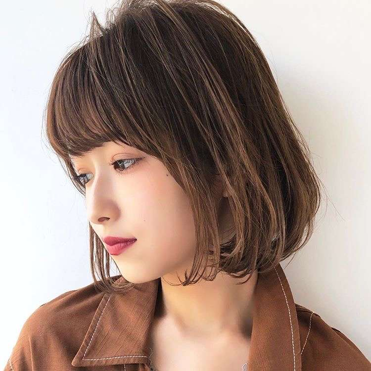 Image result for japanese bob hair 2019