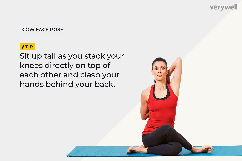 Kết quả hình ảnh cho Cow Face yoga