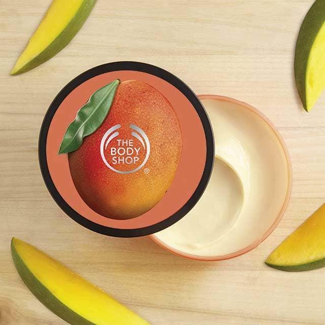 The Body Shop Mango Softening Body Butter chứa dầu cọ làm đẹp