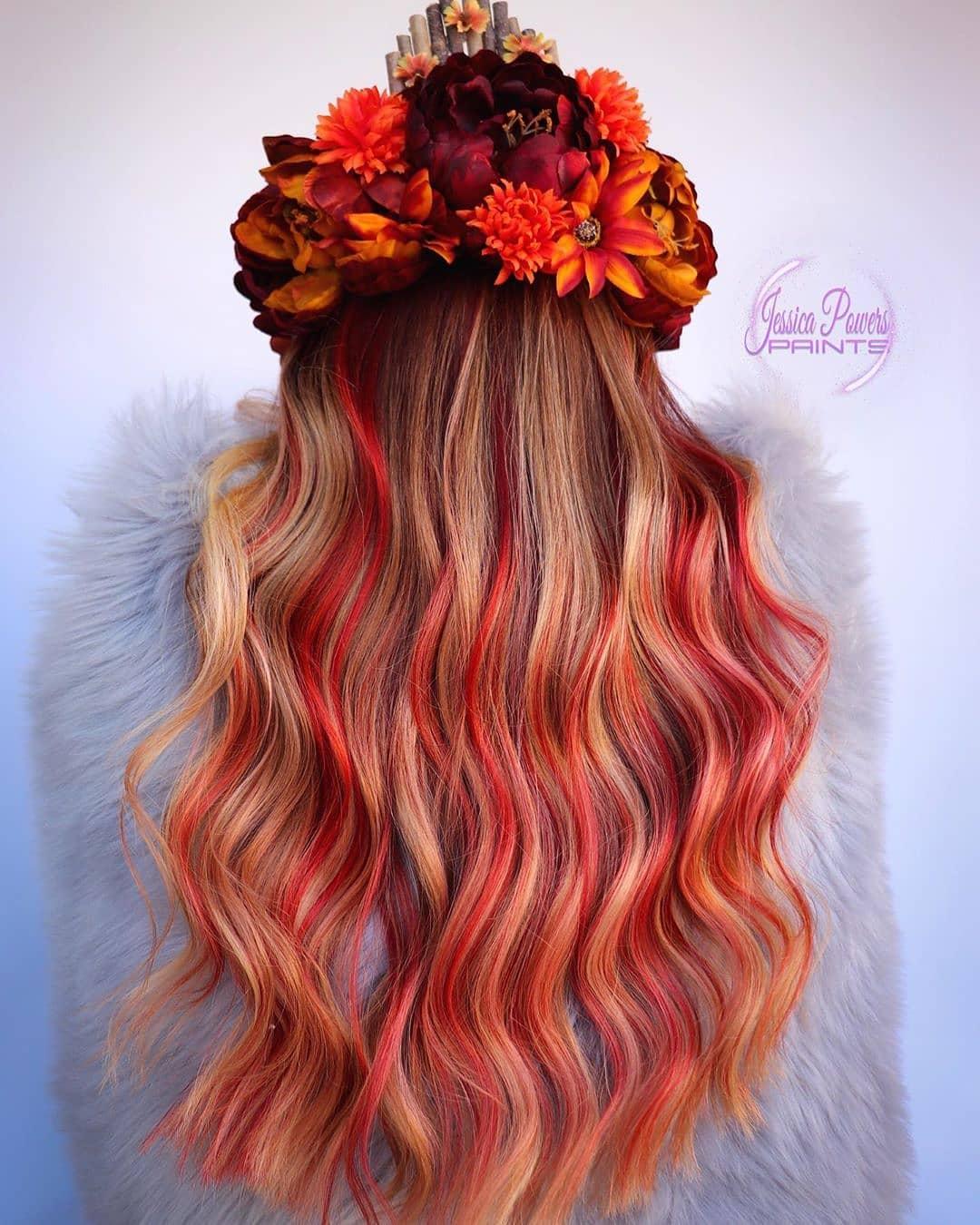 tóc xõa tự nhiên