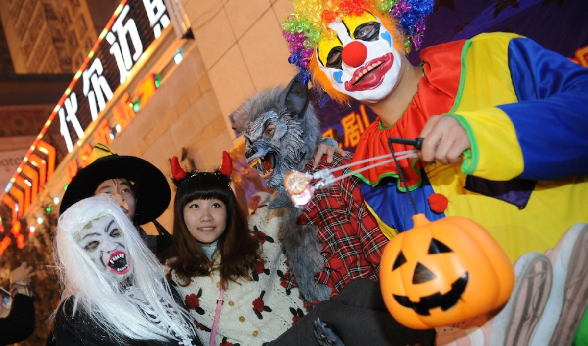 Image result for halloween china
