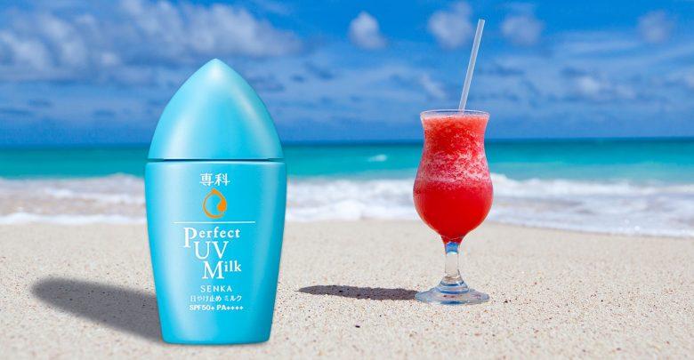 Image result for Senka Perfect UV Milk SPF