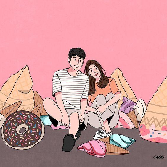 Bộ tranh: Tình yêu là những phút giản đơn nhưng lại khiến chúng ta mỉm cười trong ngọt ngào - Ảnh 9. Cách Thả Thính Crush