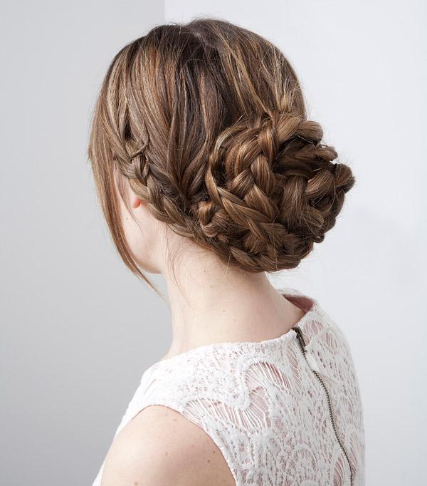 Đổi từ những mẫu tóc dài đẹp sáng búi tóc tết