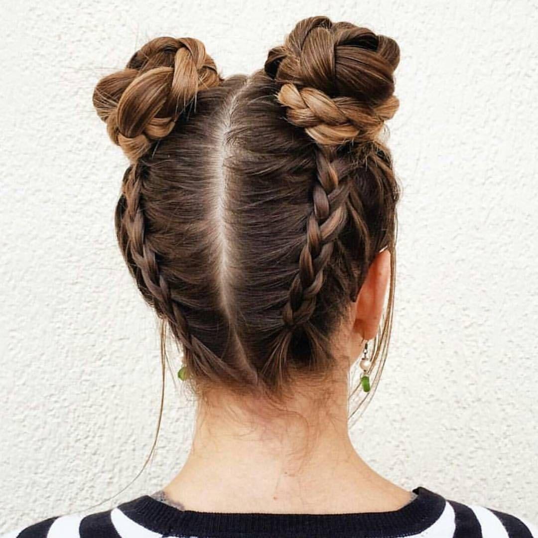 bím tóc búi đôi