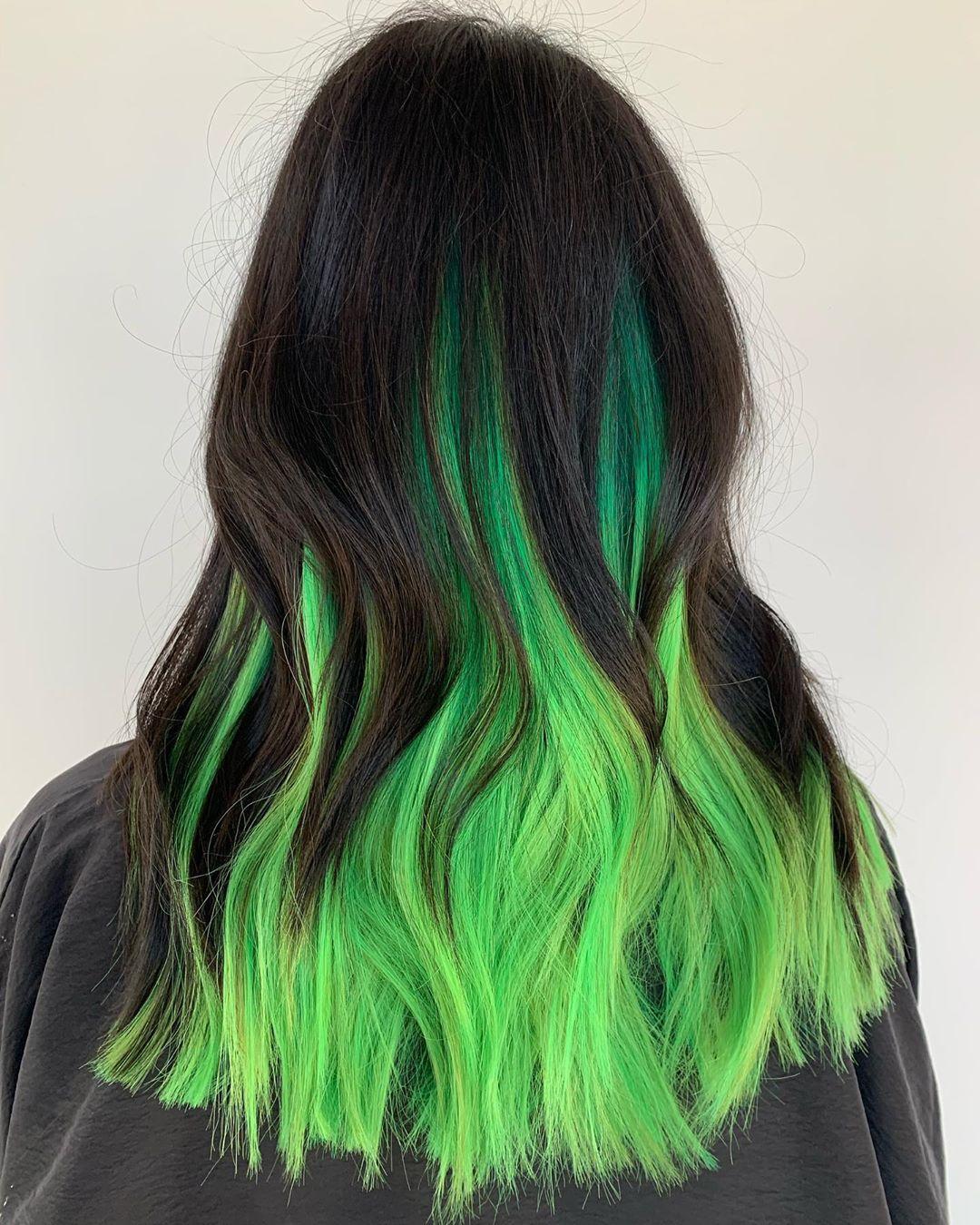 màu tóc đẹp cho nữ