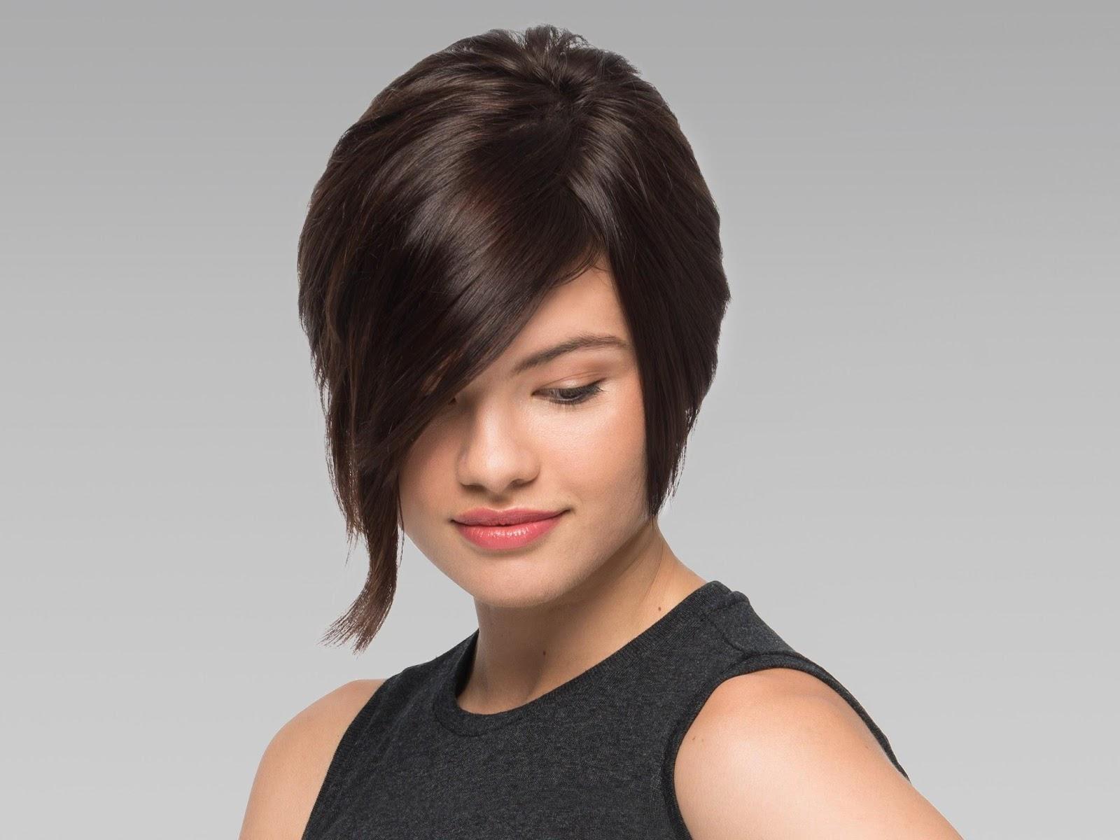 tóc ngắn duỗi