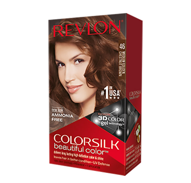 Revlon Color Silk 46 Medium Golden Chestnut Brown