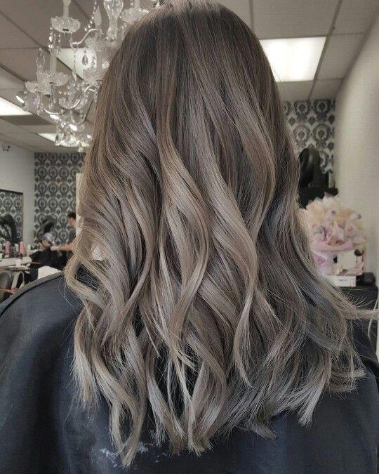 mái tóc đẹp nhất tông màu khói