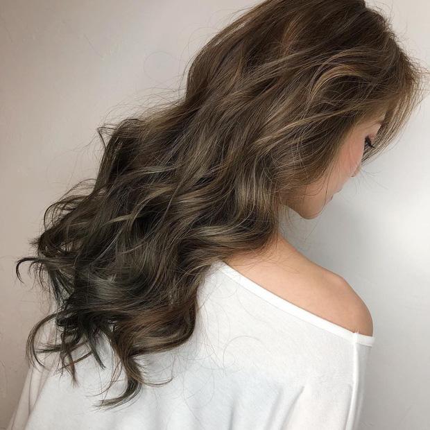 mái tóc đẹp nhất kết hợp highlight