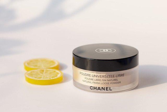 Kết quả hình ảnh cho phấn phủ bột chanel natural finish loose powder