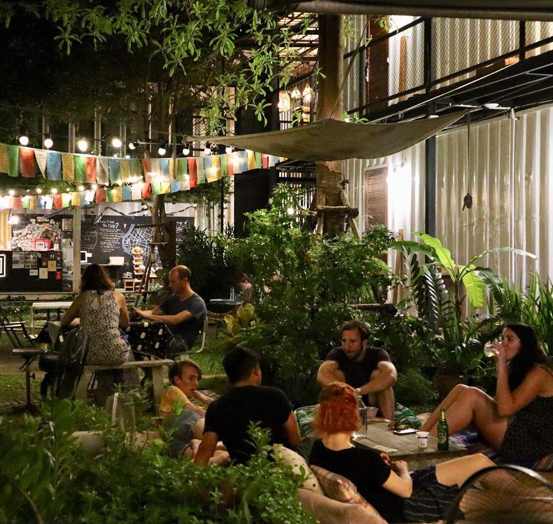 The Yard Hostel, Bangkok, Thailand