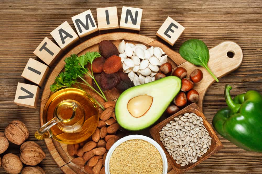 Image result for vitamin e hạt