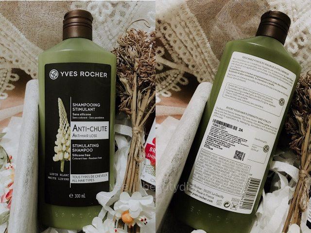 Yves Rocher Stimulating Shampoo – dầu gội rị rụng tóc cho bạn