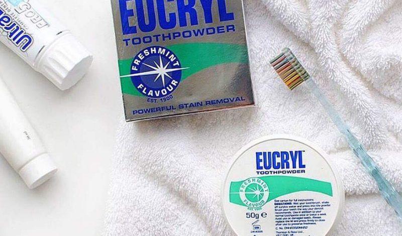 Eucryl – bột tẩy trắng răng tốt nhất hiện nay