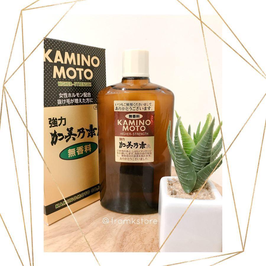 sản phẩm kích thích mọc tóc Kaminomoto Higher Strength
