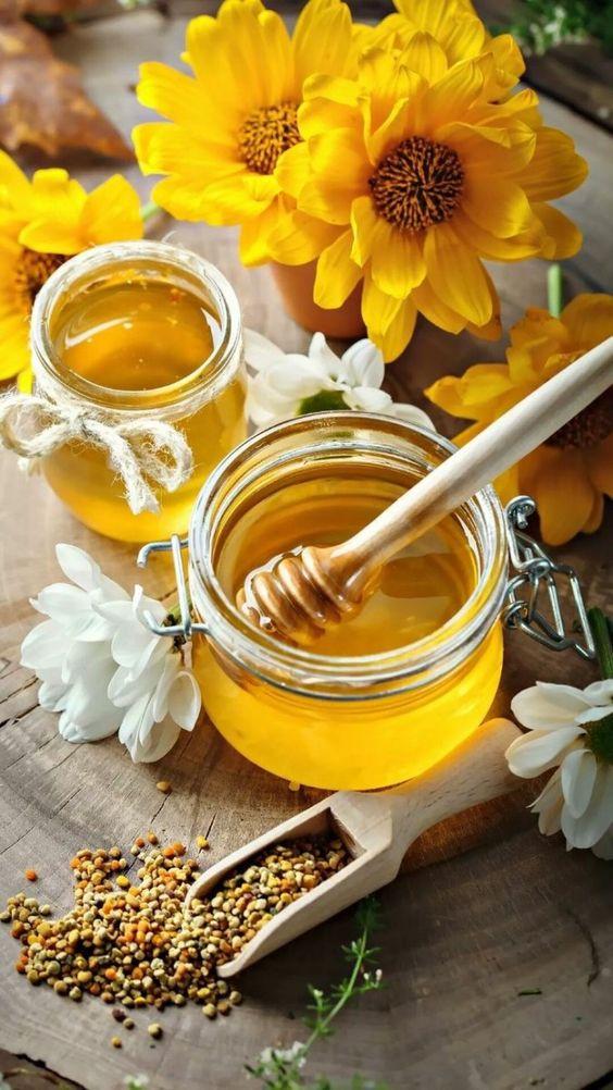tẩy tế bào môi cà phê và mật ong