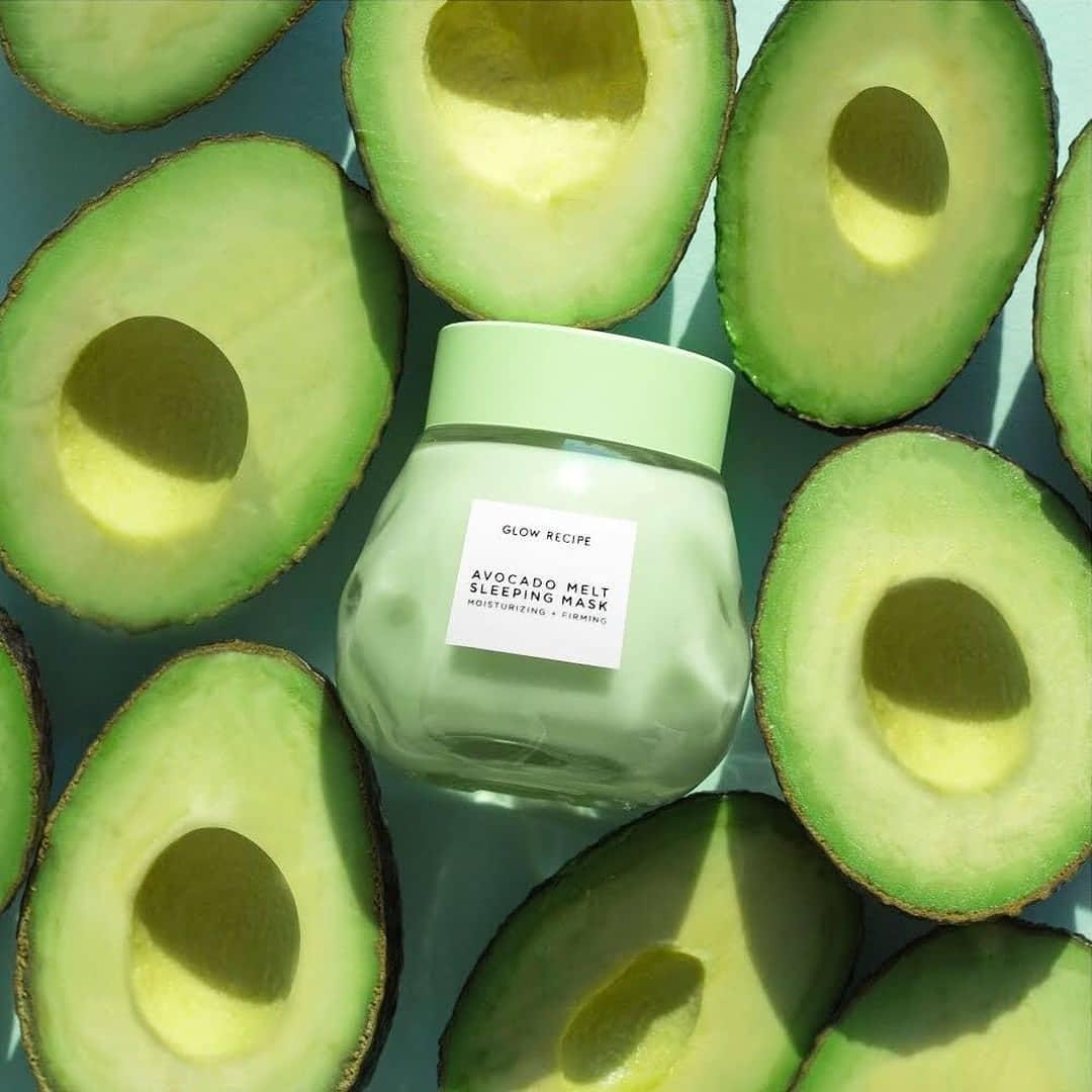 mặt nạ rửa Glow Recipe Avocado Melt Sleeping Mask