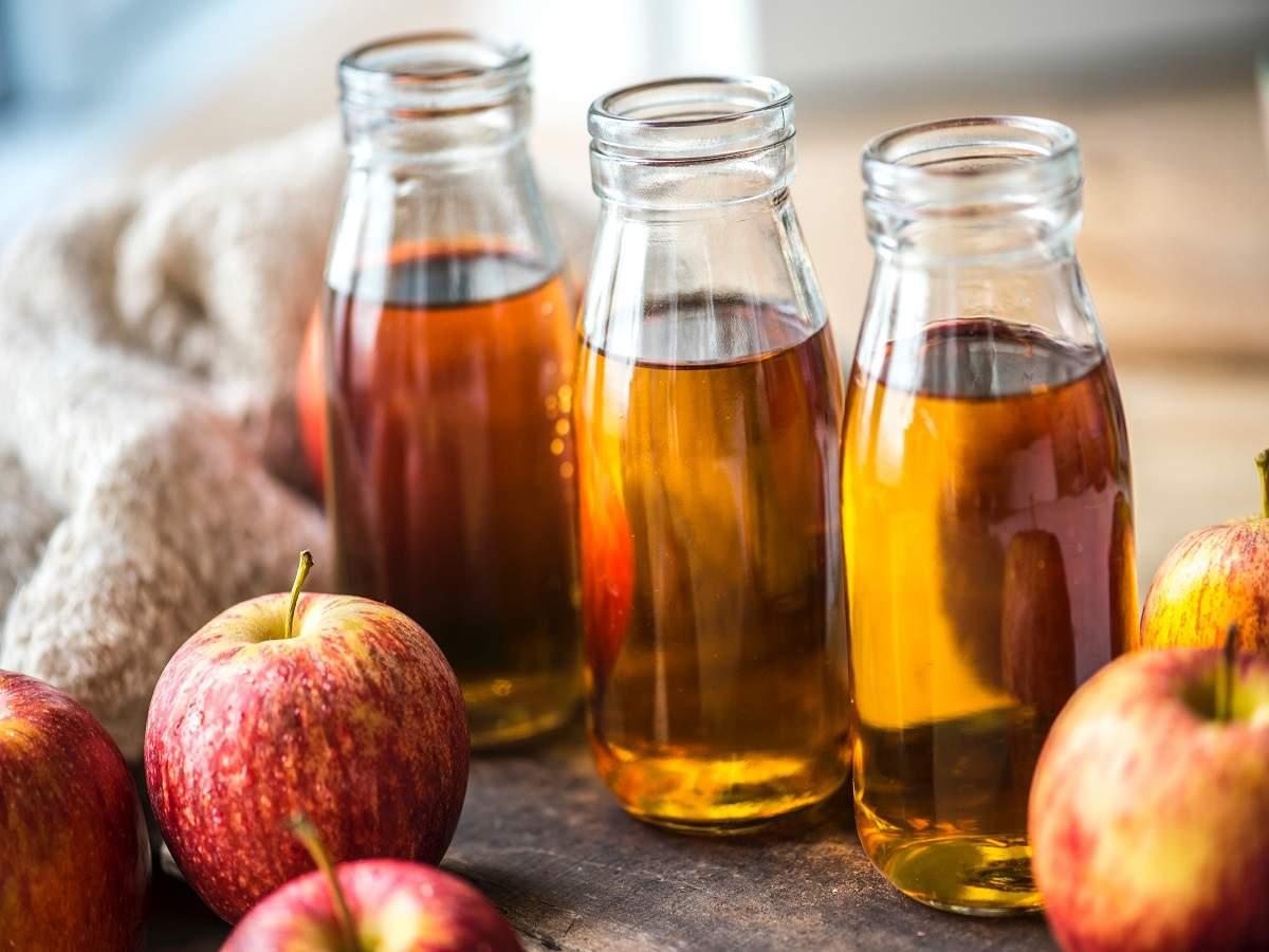 trị mụn cóc bằng giấm táo