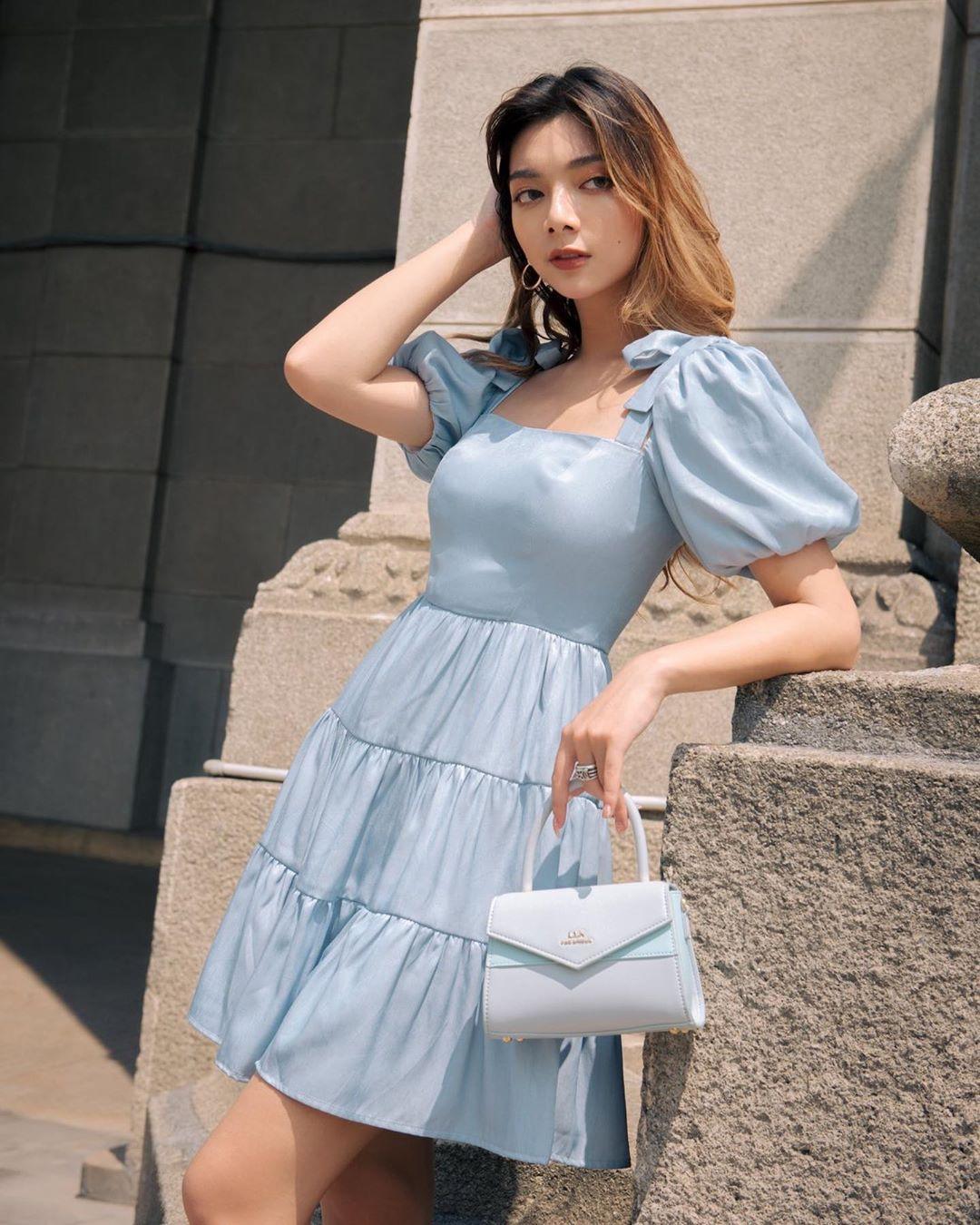 Phối Đồ Cho Nấm Lùn với váy