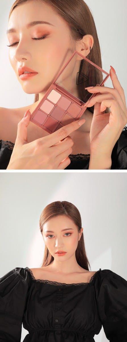 bảng phấn mắt Makeup Mùa Thu