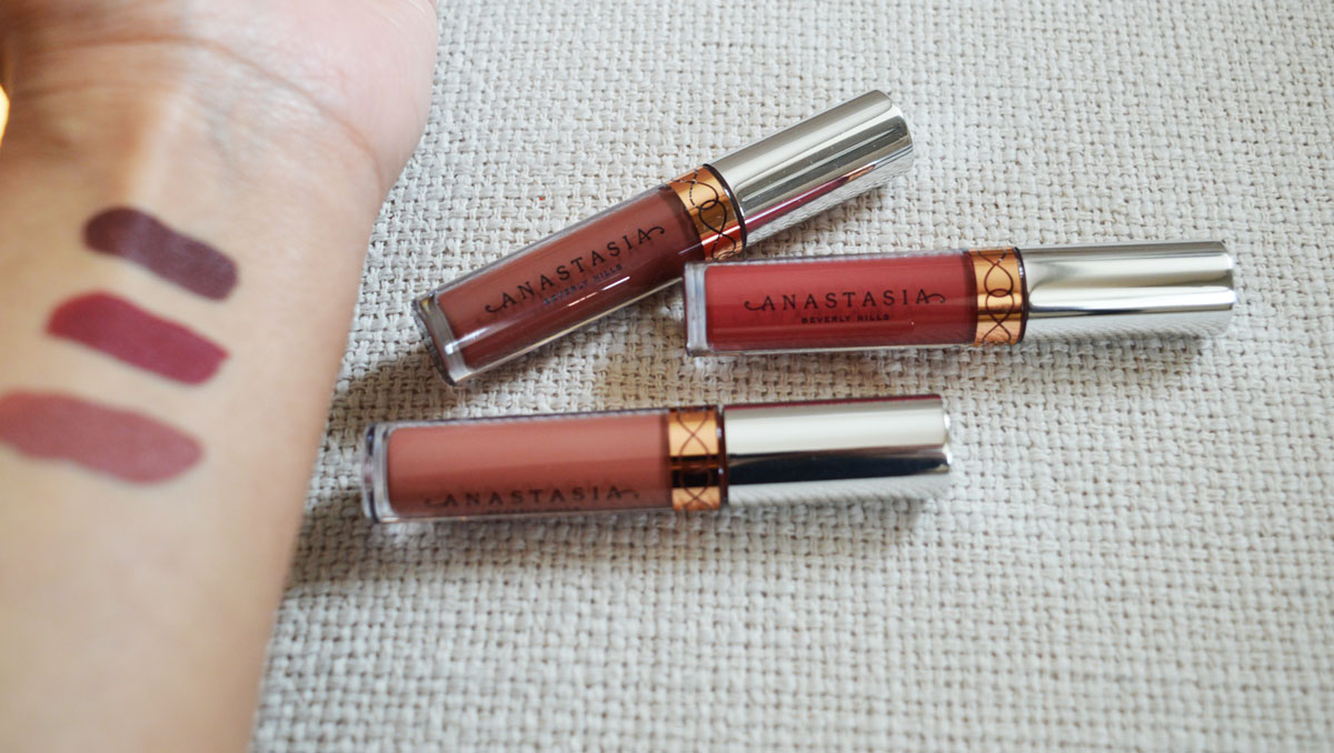 Son Màu Trầm Anastasia Beverly Hills Liquid Lipstick màu Bittersweet