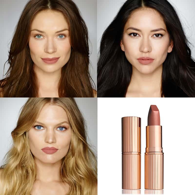Kết quả hình ảnh cho Charlotte Tilbury Matte Revolution Lipstick in Very Victoria