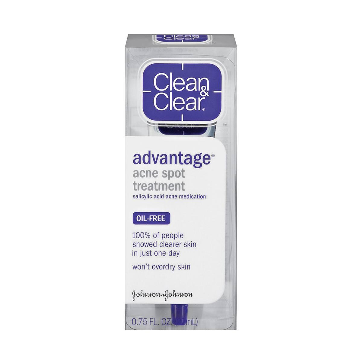 Kết quả hình ảnh cho Clean & Clear Advantage Spot Treatment