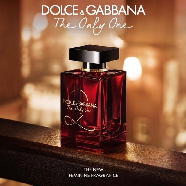 Kết quả hình ảnh cho Dolce & Gabbana The Only One 2