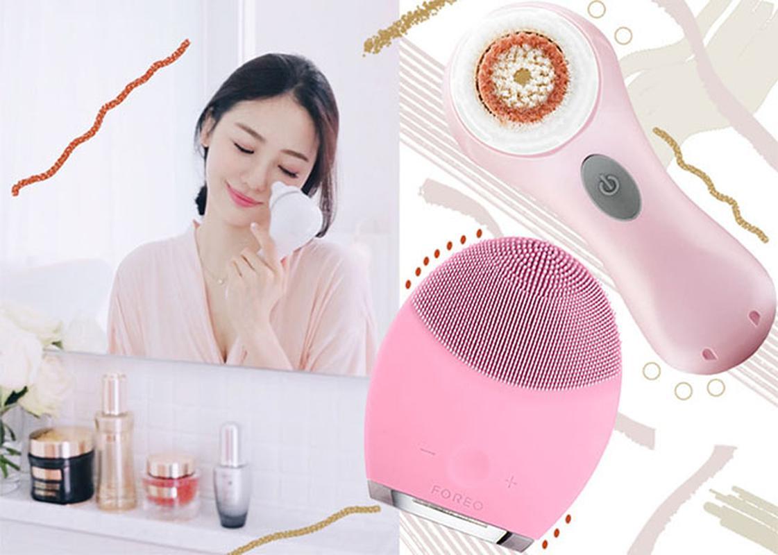 Kết quả hình ảnh cho Foreo Luna 2 For Oily Skin sẽ giúp tiết kiệm được kha khá thời gian rửa mặt mỗi tối.