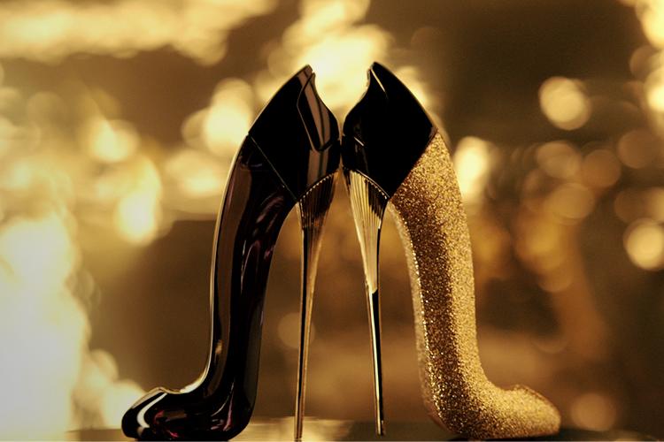 Kết quả hình ảnh cho Good Girl Glorious Gold Collector Edition by Carolina Herrera - Good Girls are Golden